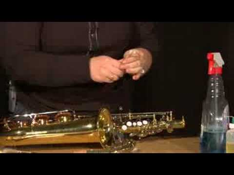 Saxophone Maintenance and Repair : How to Clean a Saxophone Without Taking It Apart