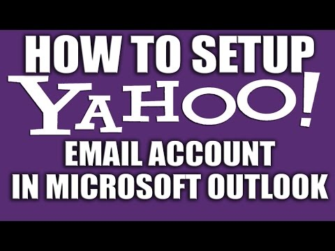 How to Set Up Yahoo Email Account in Microsoft Outlook 2016- Yahoo Email Services