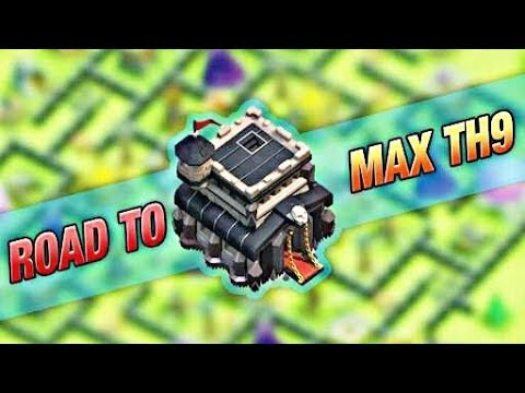 How to max th 9 fast in Clash of Clans