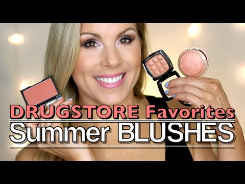 Summer Favorite DRUGSTORE Blushes for a Bronze GLOW!