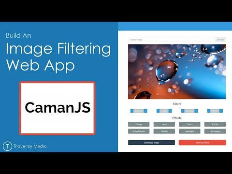 CamanJS - Build An Image Filter Web App