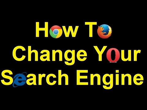 How To Change Your Search Engine