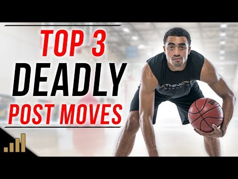 3 UNGUARDABLE Post Moves That Are EASY To Use!! Basketball Post Moves For Centers and Power Forwards