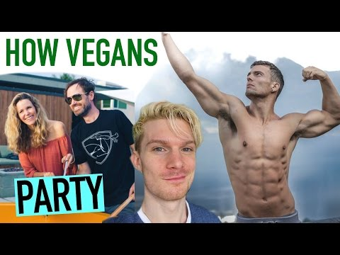 How Vegans Party