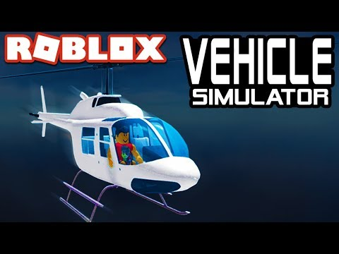 HELICOPTER UPDATE in Vehicle Simulator! | Roblox