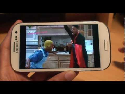 How to Watch TV on Samsung Galaxy S3, SIII, i9300