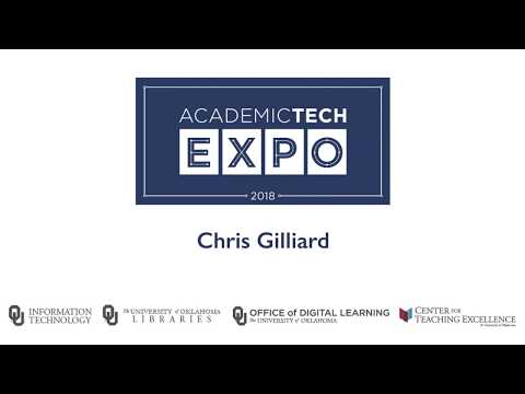 Academic Technology Expo: 2018 - The University of Oklahoma, Chris Gilliard