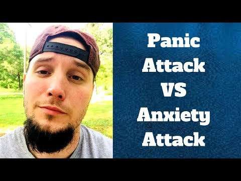 Difference Between Panic Attacks and Anxiety Attacks! (VERY DIFFERENT)