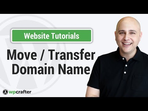 How To Move / Transfer A Domain Name To A New Host / Owner / Person / Or Account