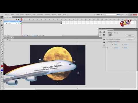 Adobe Flash Professional CS5 - ActionScript 3.0 - Interpolação Clássica