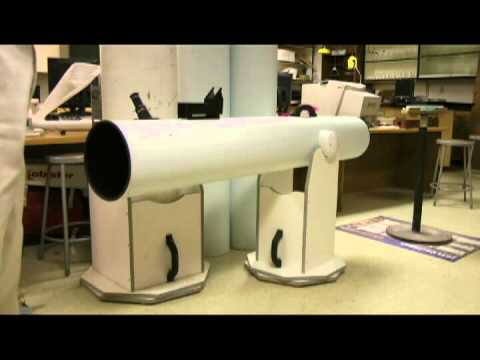 Telescope Project: base construction