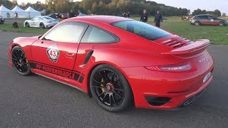 780HP Porsche 991 Turbo S by PP-Perormance - Revs & Accelerations!