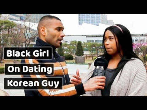 Black Girl dating experience of a Korean Guy. 한국 남자와 데이트한 흑인 여자.