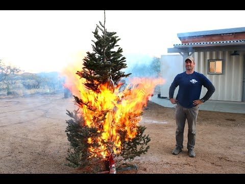 Self Extinguishing Christmas Tree ..... Maybe