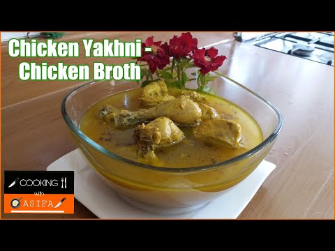 ✅Tasty Chicken Yakhni Recipe | Chicken Broth Recipe by ❤Cooking with Asifa❤ - yt_vid -152