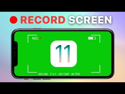 How to record screen on iPhone with iOS11