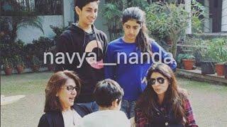 Navya Naveli Nanda Clicked With Granny Neetu Singh and Mom Shweta