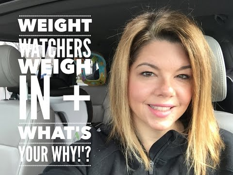 Weight Watchers SmartPoints WIW + What is Your Why?