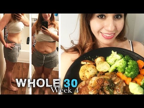 Whole 30, Last week update, what's my final weight - The290ss