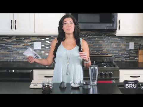 How to: assemble you BRU Single-Serve Cold Brew Coffee Maker