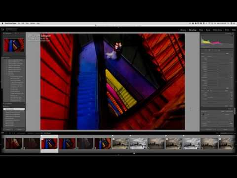 Magmod Tutorial - Pushing the Colors in a Parking Garage
