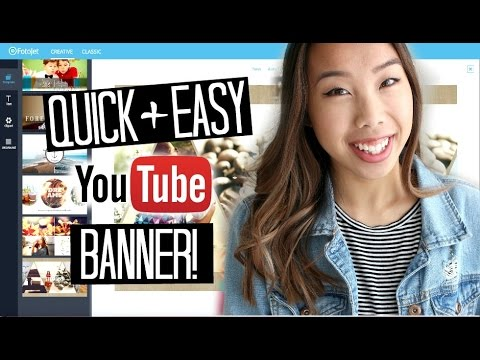 How To: Create a YouTube Banner (Quick and Easy!)