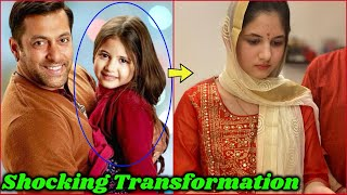 Shocking Transformation of Salman Khan Child Actress Harshaali Malhotra