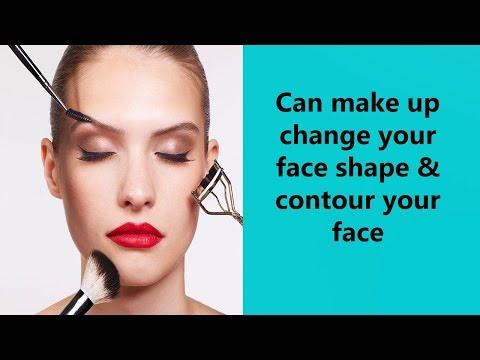Can Makeup Change Your Face Shape & Contour Your Face?