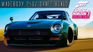 761HP 3.6 LITRE I6 240Z WIDEBODY DRIFT BUILD!!! | Forza Horizon 3 Custom Cars #5