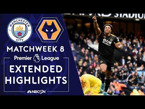 Manchester City v. Wolves | PREMIER LEAGUE HIGHLIGHTS | 10/6/19 | NBC Sports