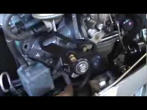Honda 4stroke 50hp outboard carburetor rebuild