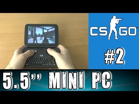 2# GPD Win Counter Strike Global Offensive test Portable Handheld Gaming Mini PC Intel X7 Z8700