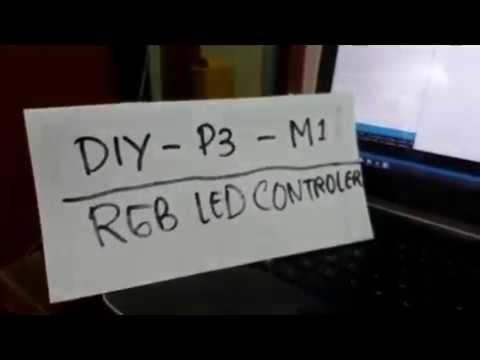 DIY-P3-M1 RGB LED Controller