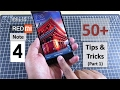 50+ Redmi Note 4 Tips and Tricks (Part 1) | Features | Software Walkthrough