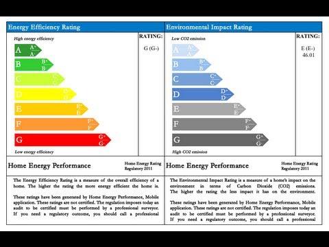 EPC simulation - Home energy audit Mobile app