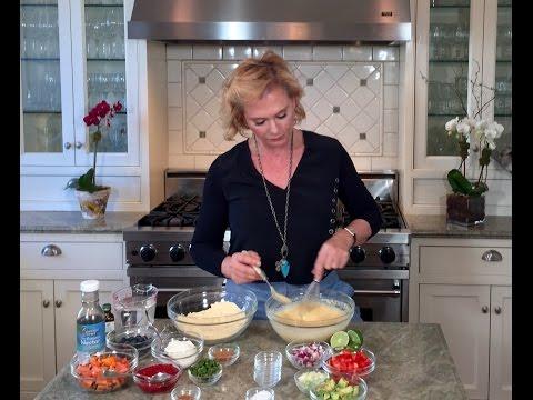 Chickpea Pancakes - Gluten Free- Quick & Easy
