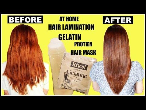 DIY Hair Lamination Using Gelatin For Dry & Damaged Hair, Split ends & Breakage-Beautyklove