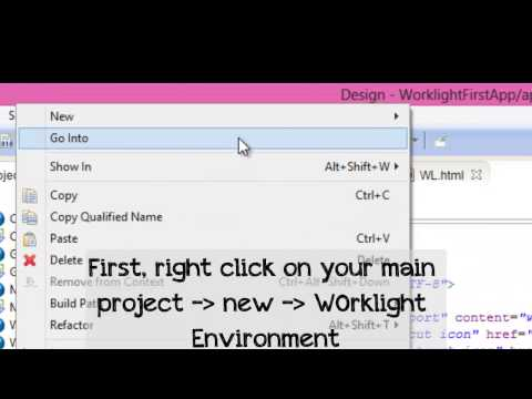 How to build IBM Worklight Project to Android