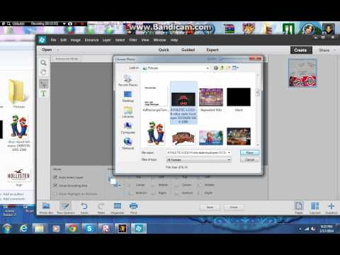 How to make a collage on adobe photoshop elements 12