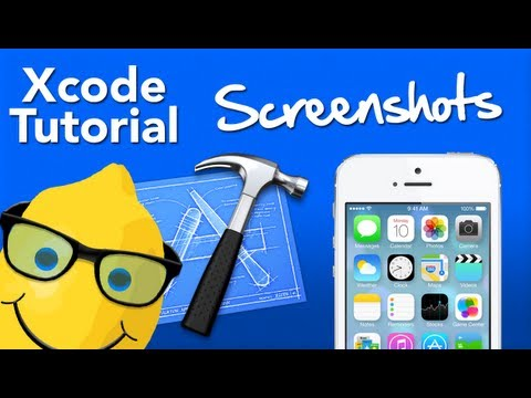 XCode 4.5 Tutorial Screenshots Programatically - Geeky Lemon Development