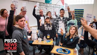 Record turnout expected for Nevada caucuses