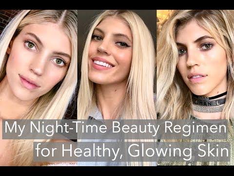My Nighttime Skincare Routine | Healthy Glowing Skin | Devon Windsor