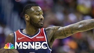 NBA Star John Wall: 'We're Put On This Earth To Give Back To People' | Craig Melvin | MSNBC