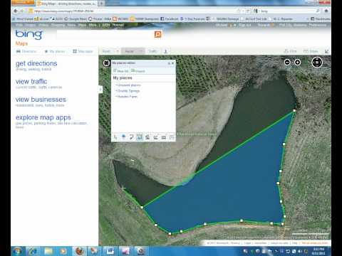 Measuring Acreage with Bing Maps.wmv