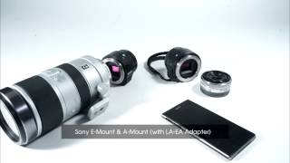 Sony ILCE-QX1 Lens Style Alpha Camera Unboxing