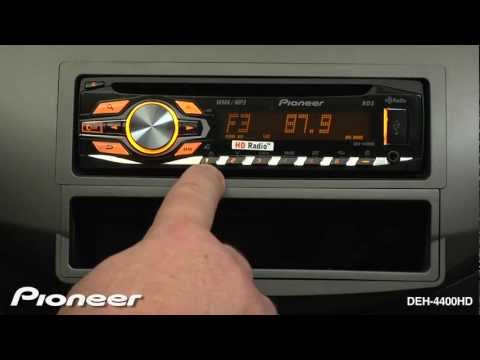 How To - DEH-4400HD - Radio Presets