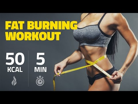 How to burn 50 Calories in 5 Minutes - Music Version