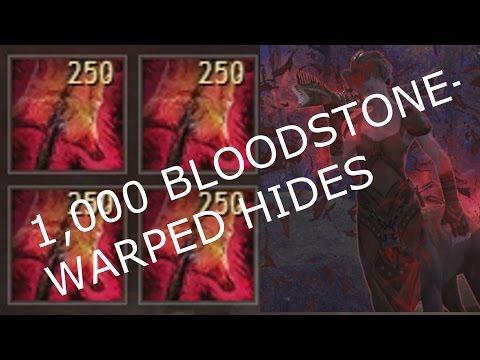 Salvaging 1,000 Bloodstone-Warped Hides  |  Guild Wars 2