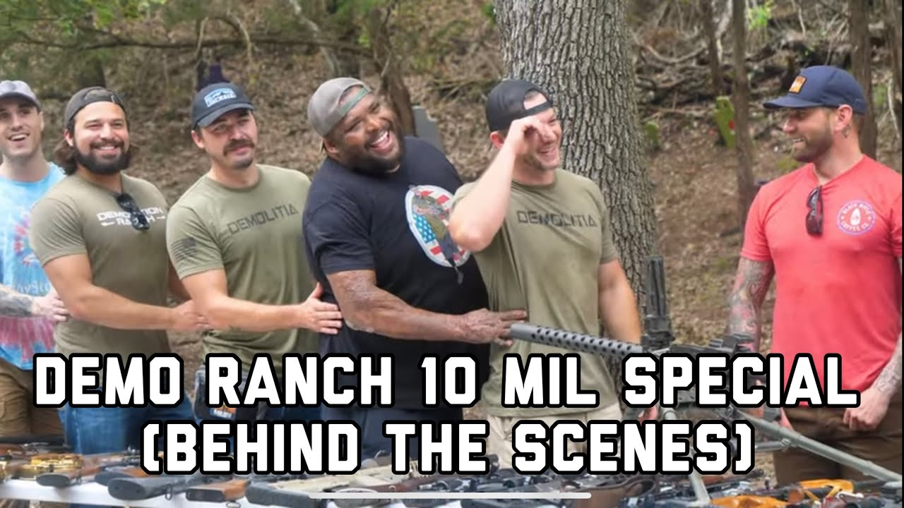 Demo Ranch 10 Million Sub Video (Behind The Scenes)