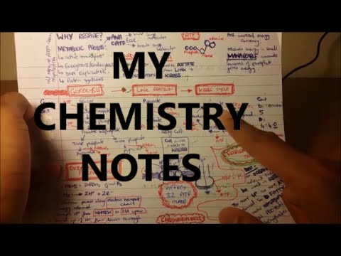 My Chemistry Notes - A Level | GCSE